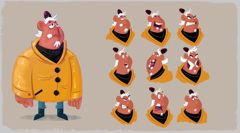 Animation Character Design Portfolio : Character design visual development portfolio domestika