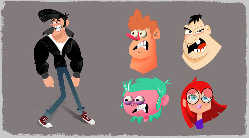Character Design & Visual Development Portfolio 2016 22