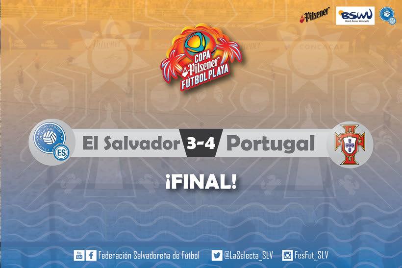 Selección Nacional de Fútbol Playa de El Salvador 2