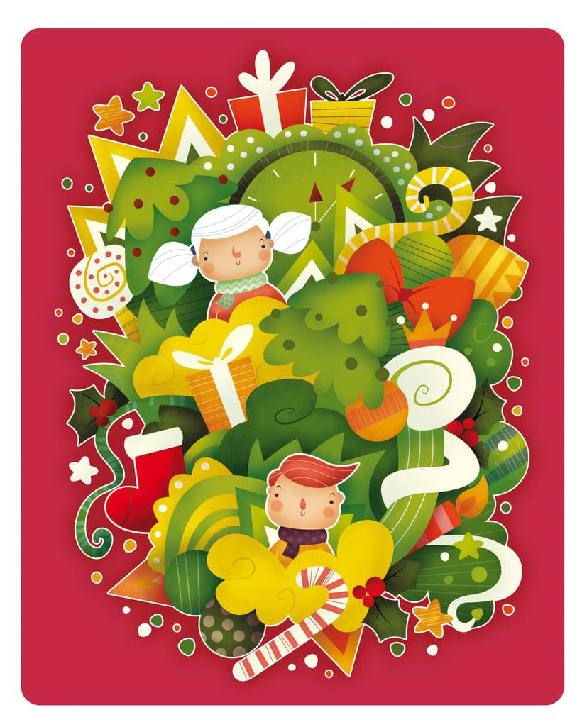Dulce Navidad. Ilustración infantil 1