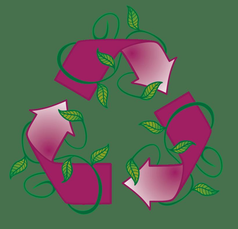 Logo Reciclaje para Juego de mesa EVA -1