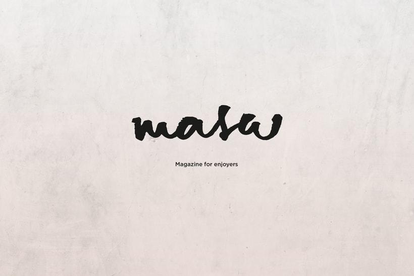MASA - Magazine for enjoyers 0