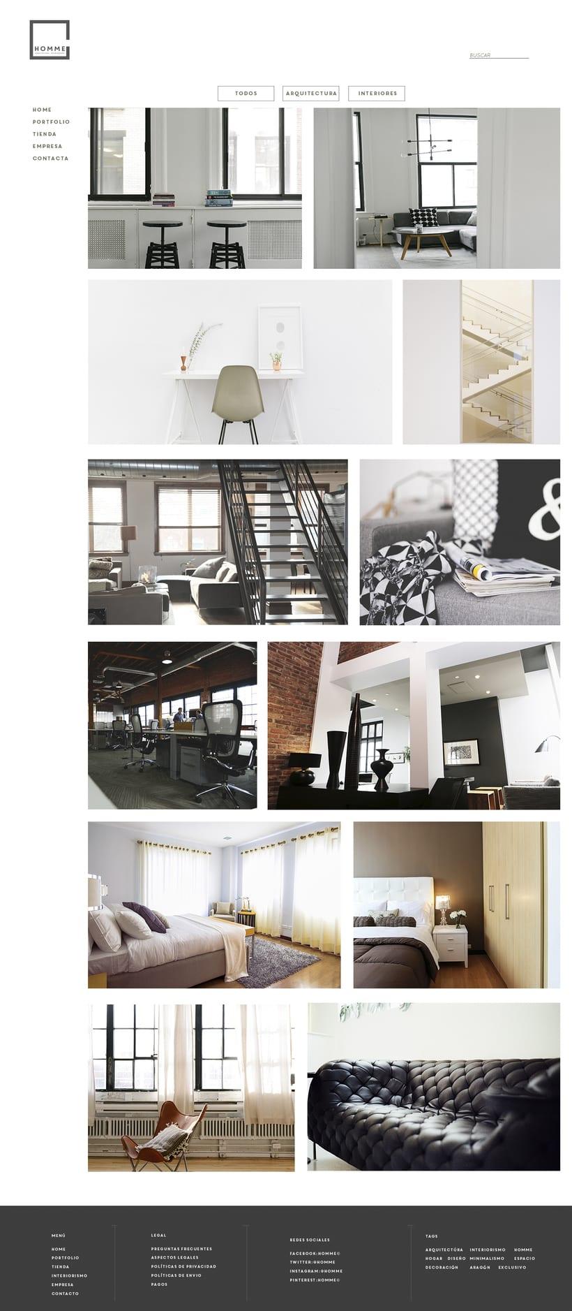 HOMME arquitectura e interiorismo© web. 1