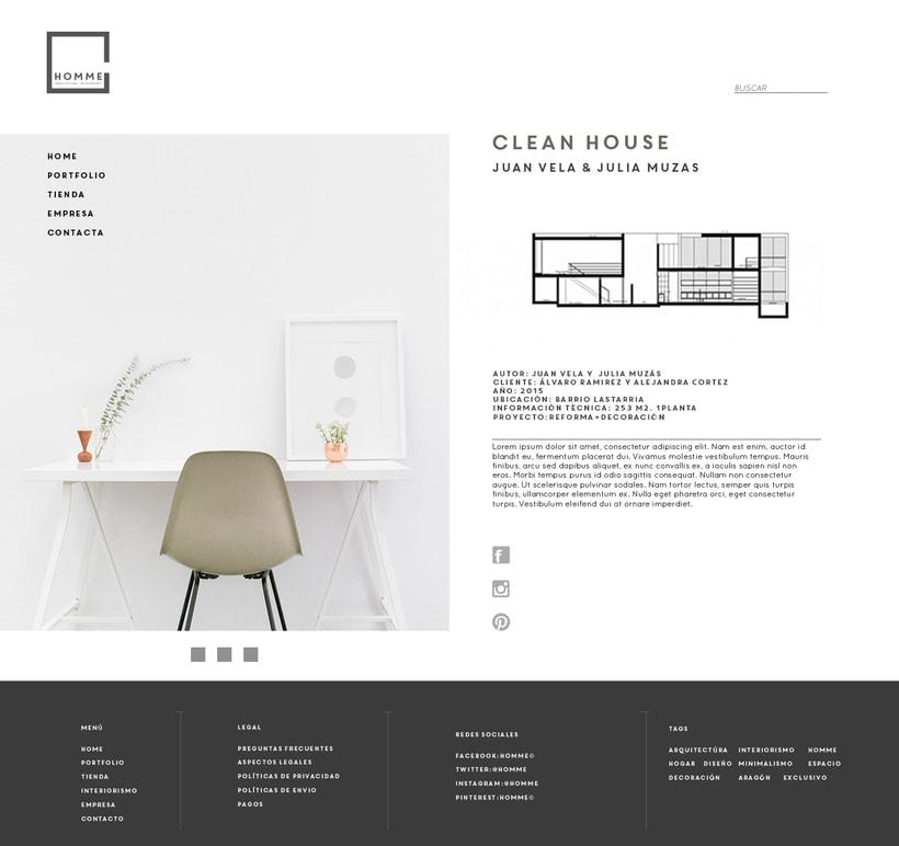 HOMME arquitectura e interiorismo© web. 3
