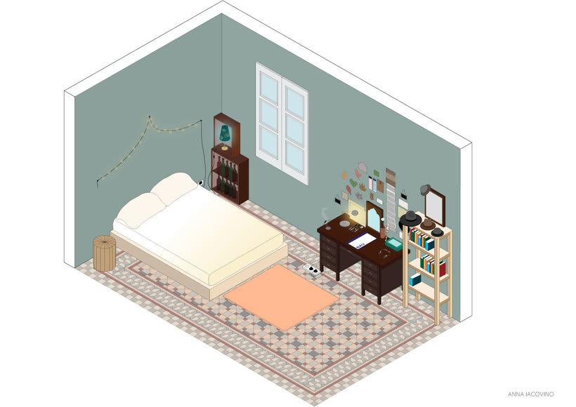 Illustraciòn - Habitaciòn -1