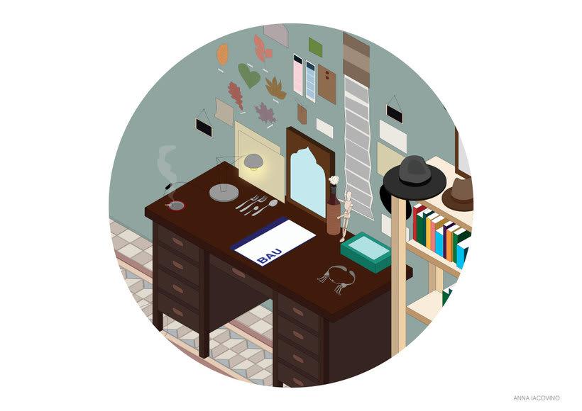 Illustraciòn - Habitaciòn 0
