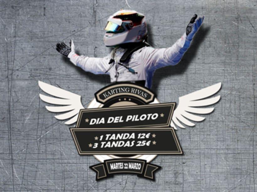 Diseño en Karting Rivas 1