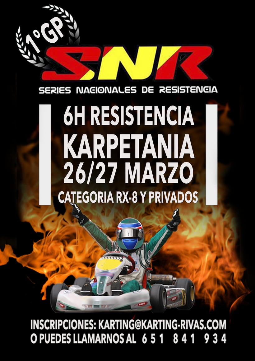 Diseño en Karting Rivas 3