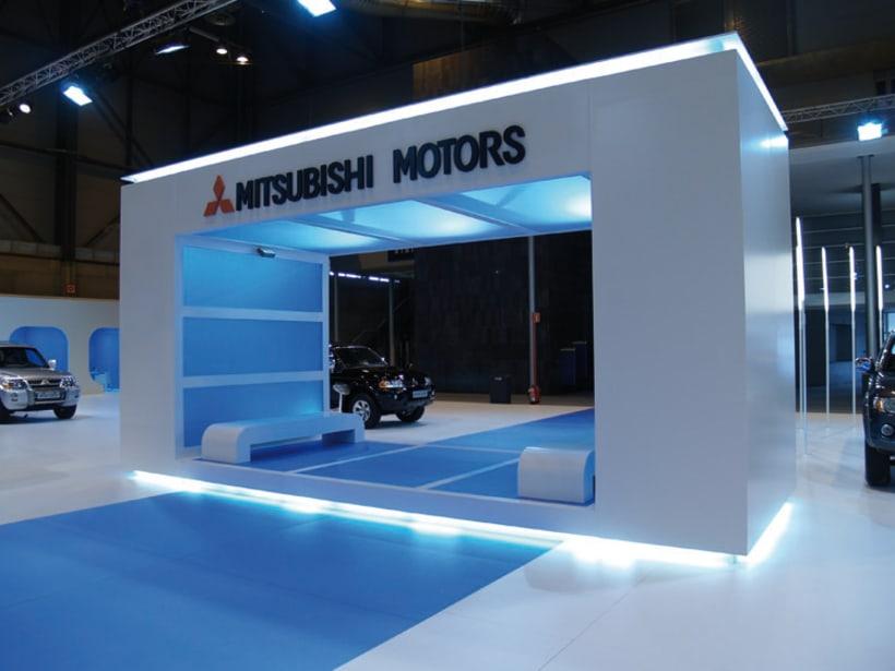Stand MITSUBISHI Salón internacional del automóvil 7