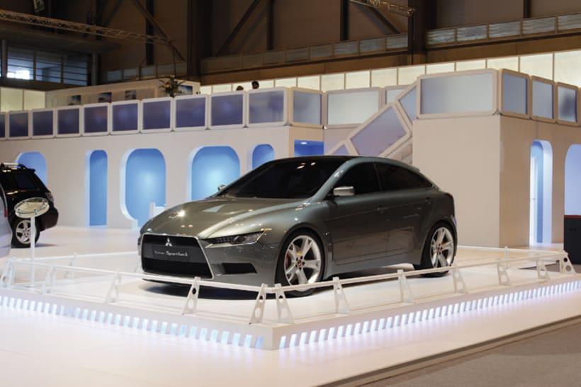 Stand MITSUBISHI Salón internacional del automóvil 11