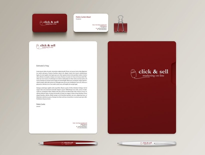 Logotipo Click & Sell 1