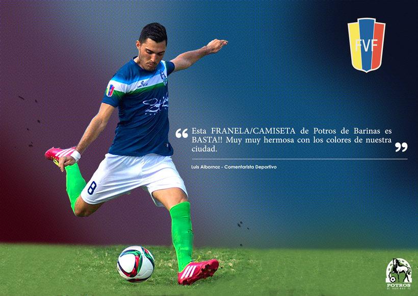 Brochure para Sponsorships del equipo FC Potros de Barinas 3