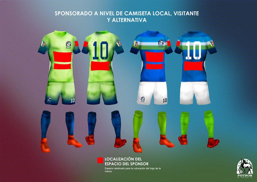 Brochure para Sponsorships del equipo FC Potros de Barinas 4