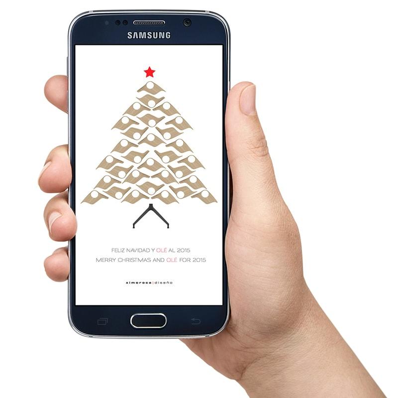 Felicitación de Navidad Ximo Roca Diseño 0