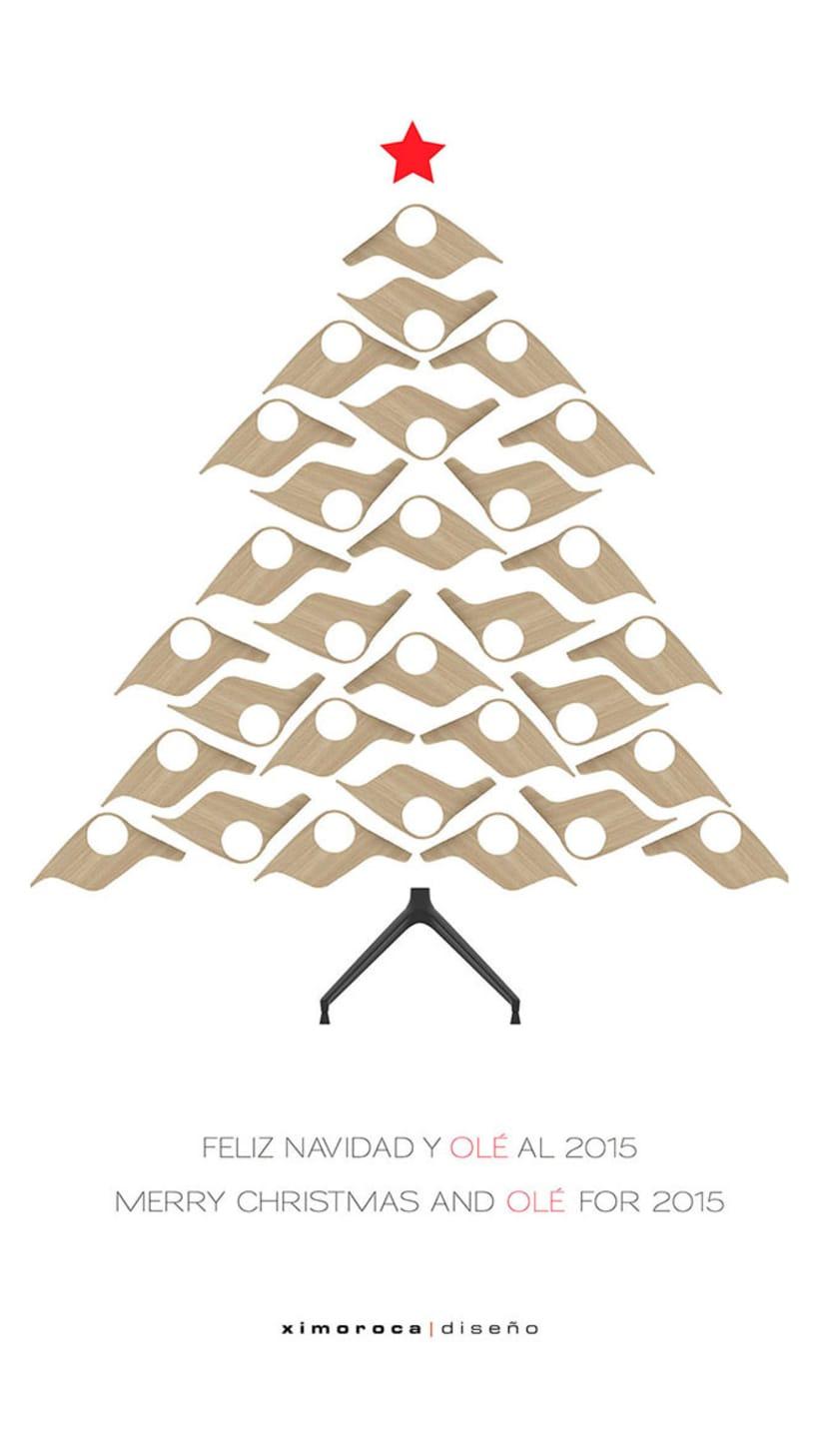 Felicitación de Navidad Ximo Roca Diseño 1