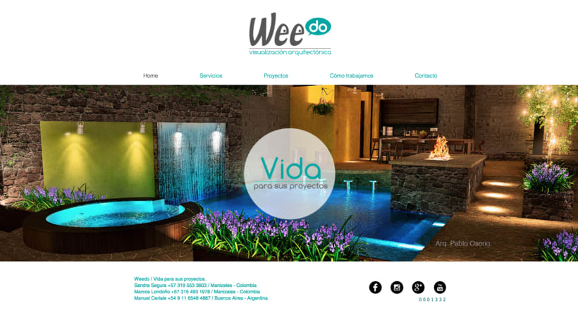 Weedo - Visualización Arquitectónica 3