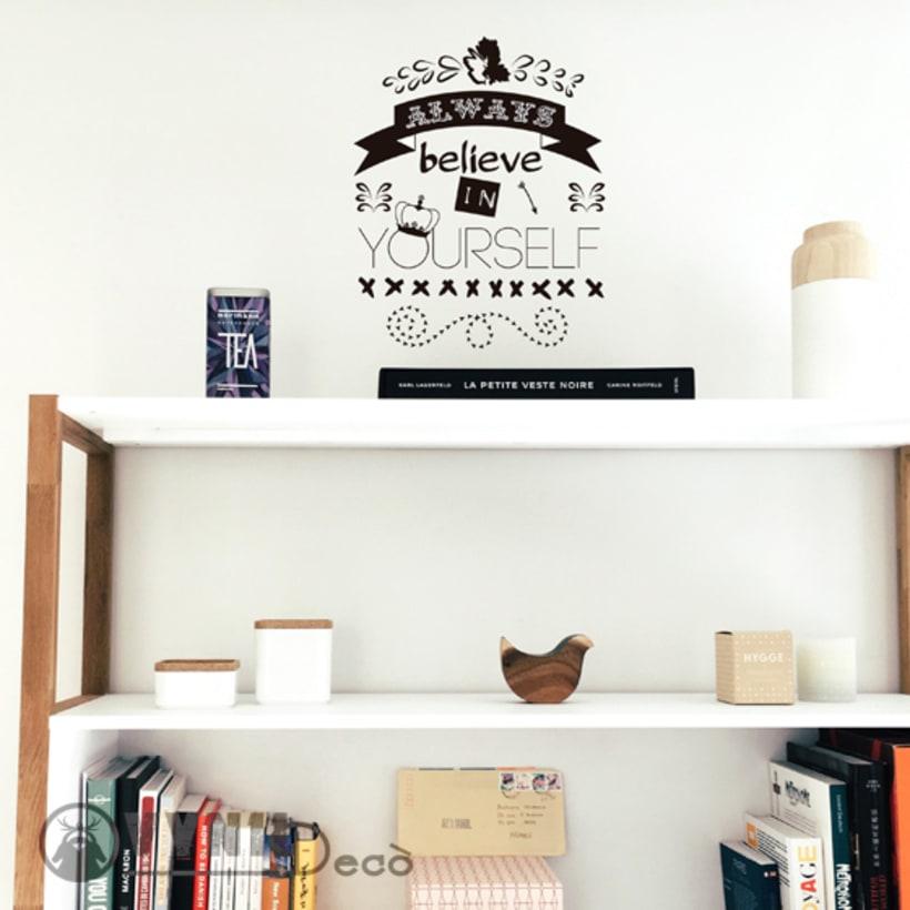 VinylDecò Studio. Diseños exclusivos para la decoración de interiores y exteriores en vinilo. 3