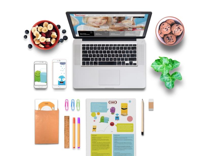 Tamar - Identidad Corporativa Empresa de Catering 0