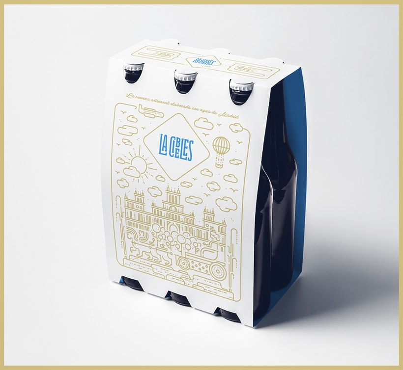 Propuesta rediseño branding para Cervezas La Cibeles 5