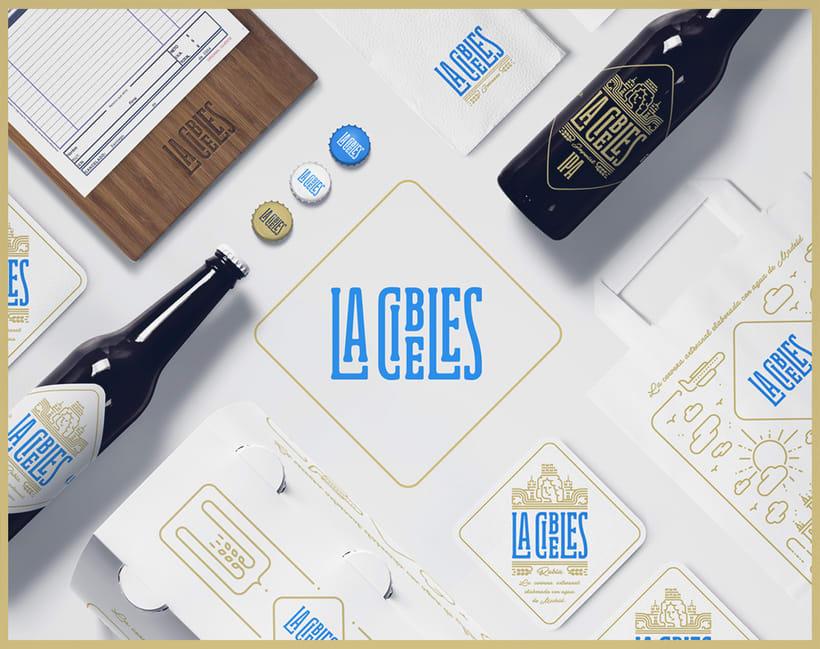 Propuesta rediseño branding para Cervezas La Cibeles 0