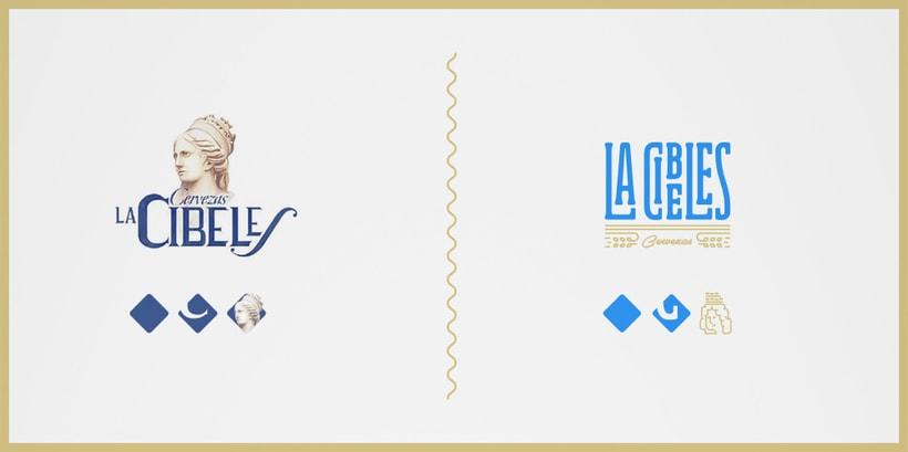 Propuesta rediseño branding para Cervezas La Cibeles 1