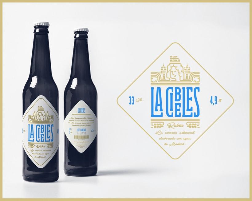 Propuesta rediseño branding para Cervezas La Cibeles 2