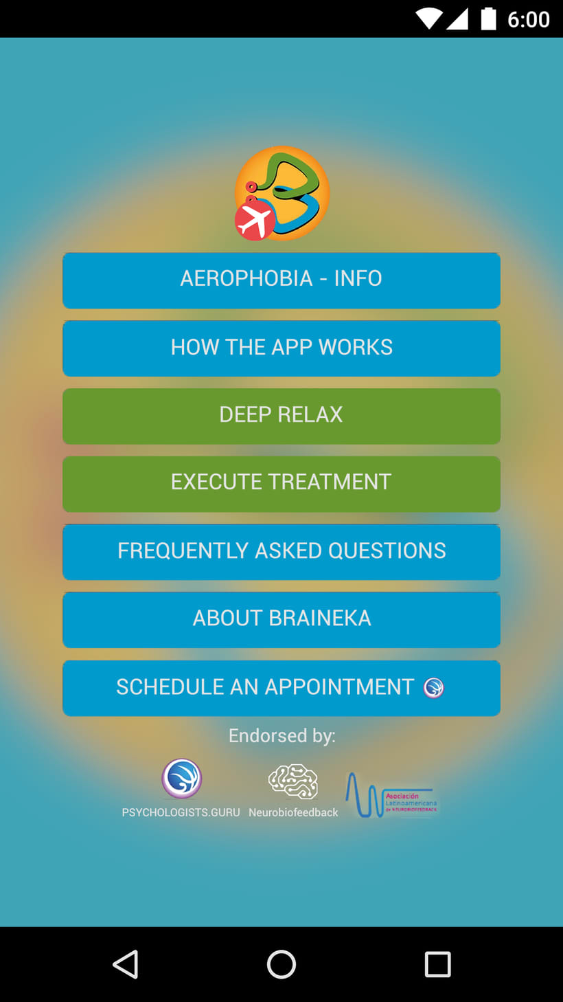 Diseño UI de Braineka App 0