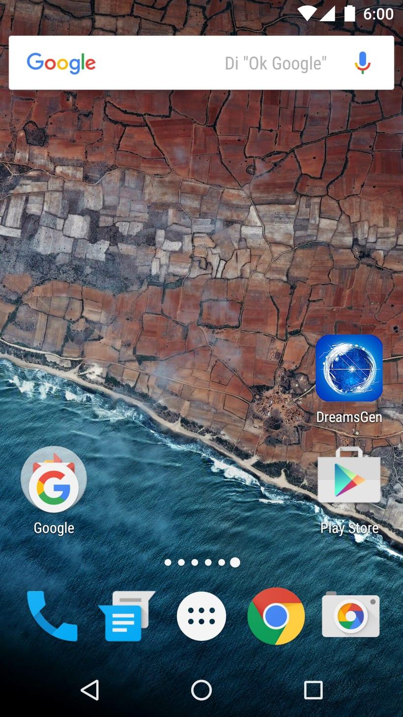 Icono para aplicación DreamsGen -1
