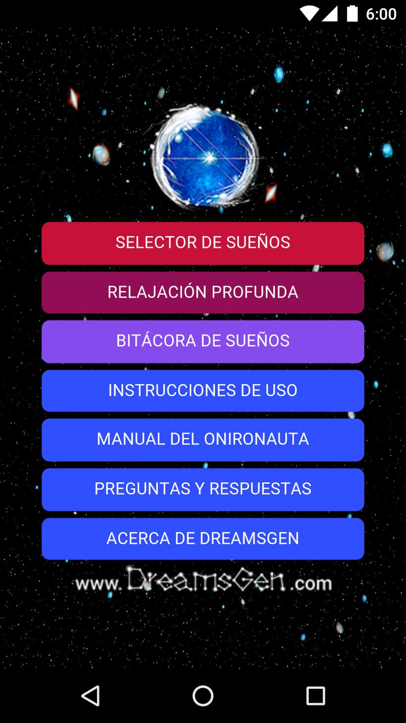 DreamsGen UI/UX Design 0