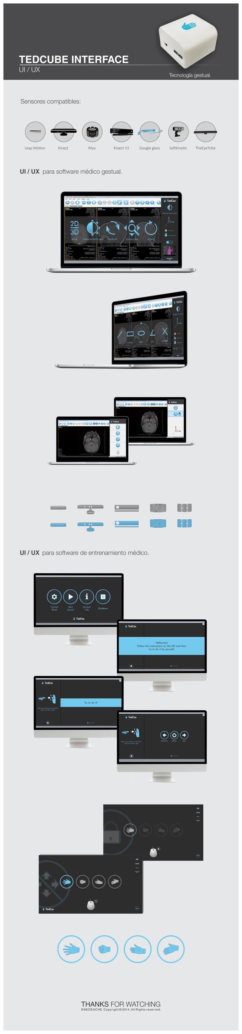 TedCube Interface // UI  UX 0