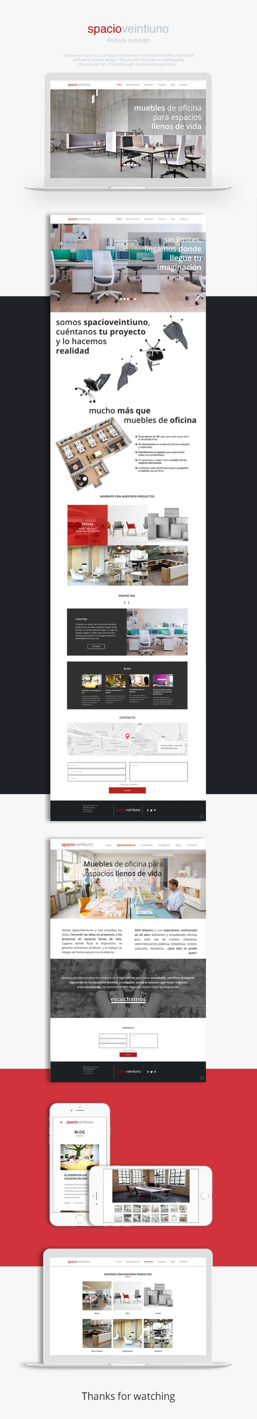spacioveintiuno website redesign -1