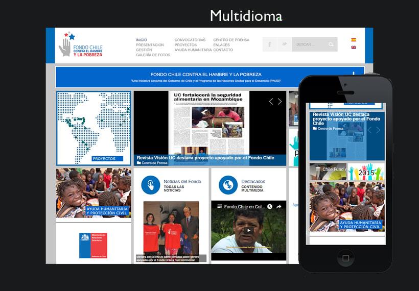 WEB CORPORATIVA GOBIERNO CHILE 0