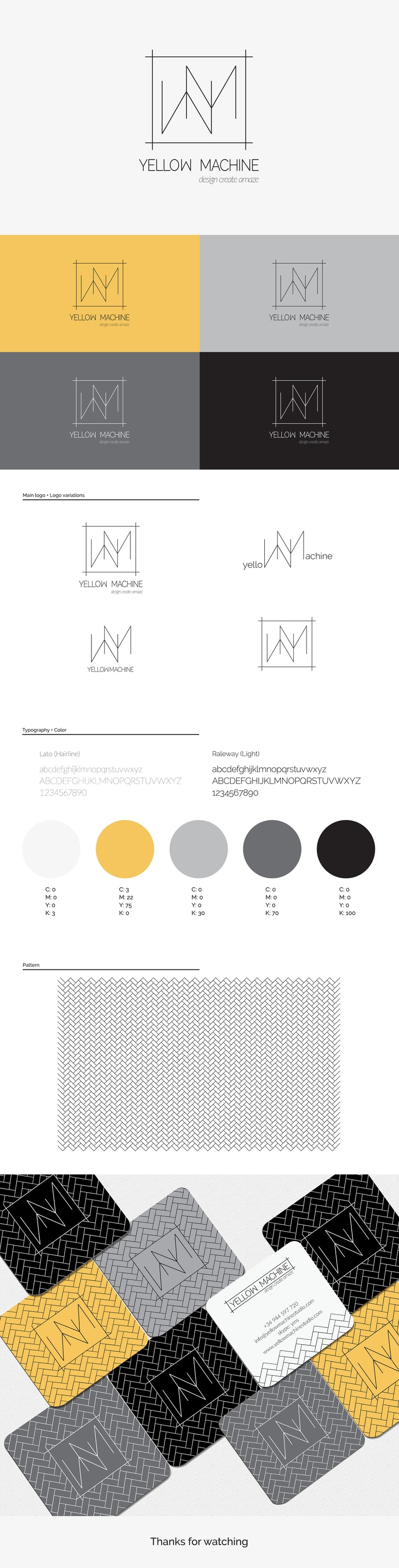 Yellow Machine Studio Identity -1