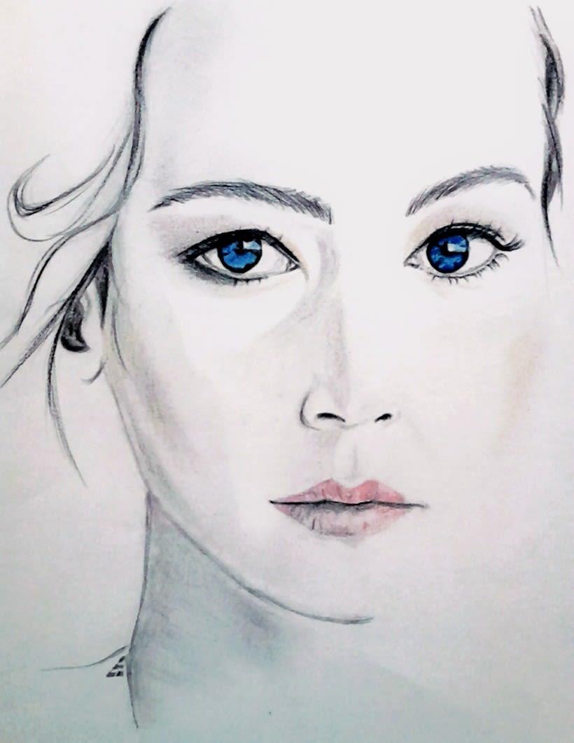 Dibujando con sencillos lápices 8