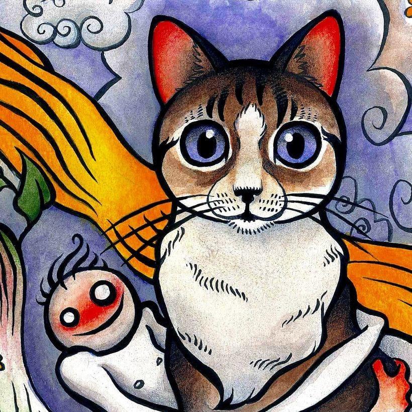 DisneyLanda: El gato 6