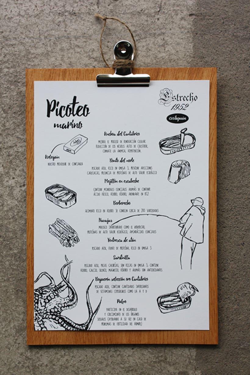 Branding | carta picoteo Estrecho 52 2