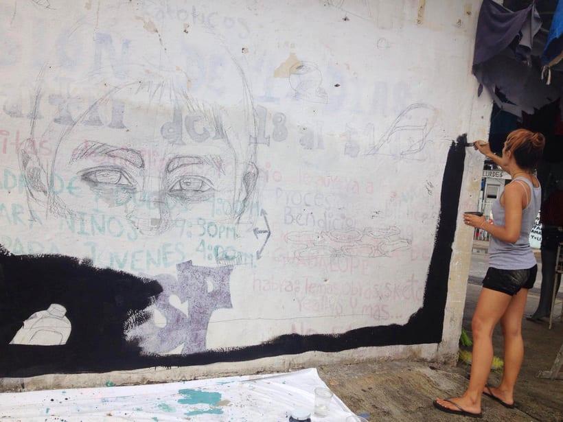 Tulum Limpio / Pintura Mural 0