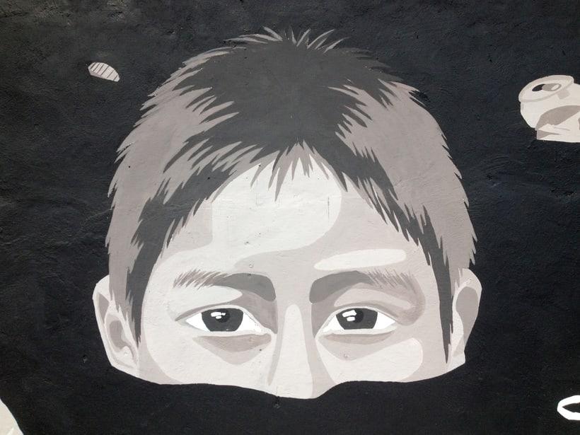Tulum Limpio / Pintura Mural 4