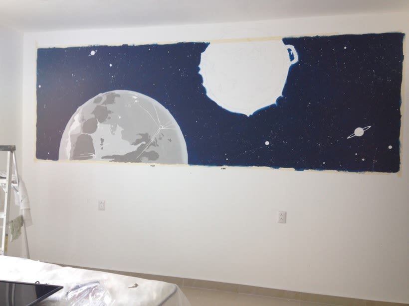 Sol & Luna / Pintura Mural 1