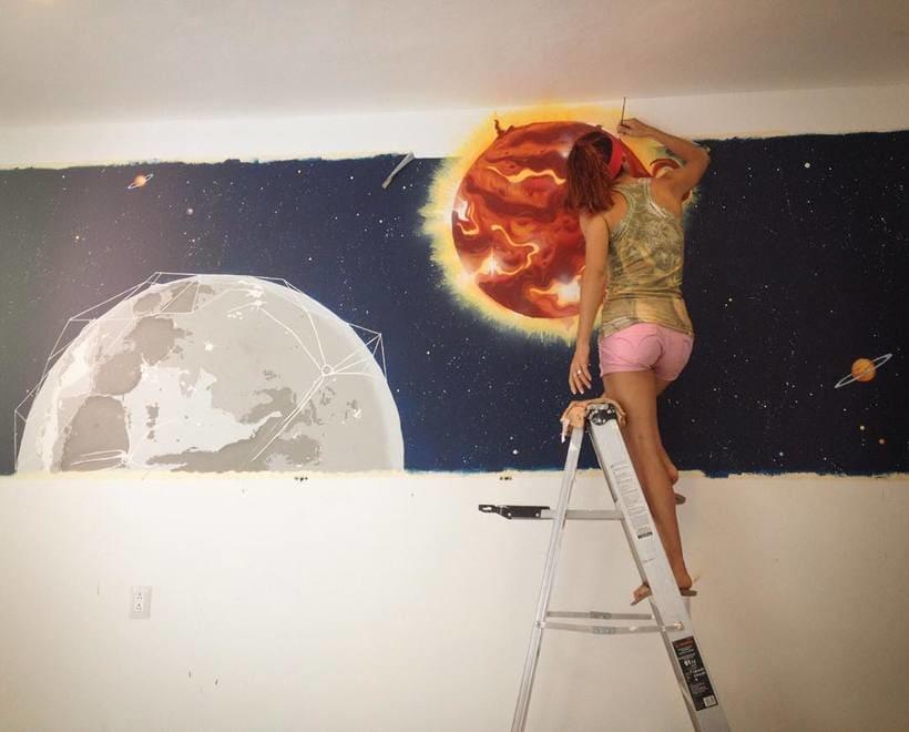 Sol & Luna / Pintura Mural 2