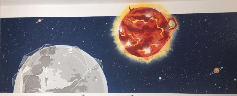 Sol & Luna / Pintura Mural 5