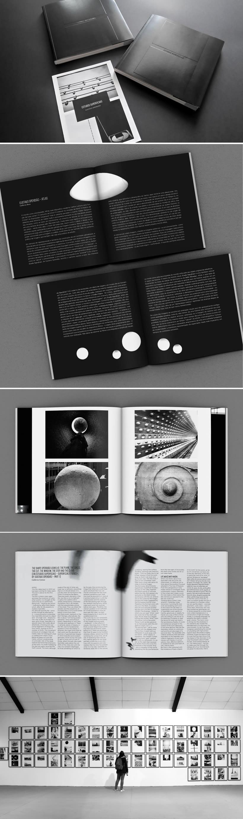 Estudos Superficiais | Catálogo de la exposición de Gustavo Speridião 0