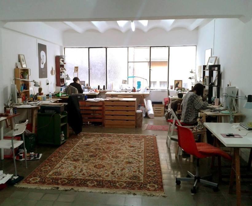 Estudio domingo, Coworking en Barcelona 1