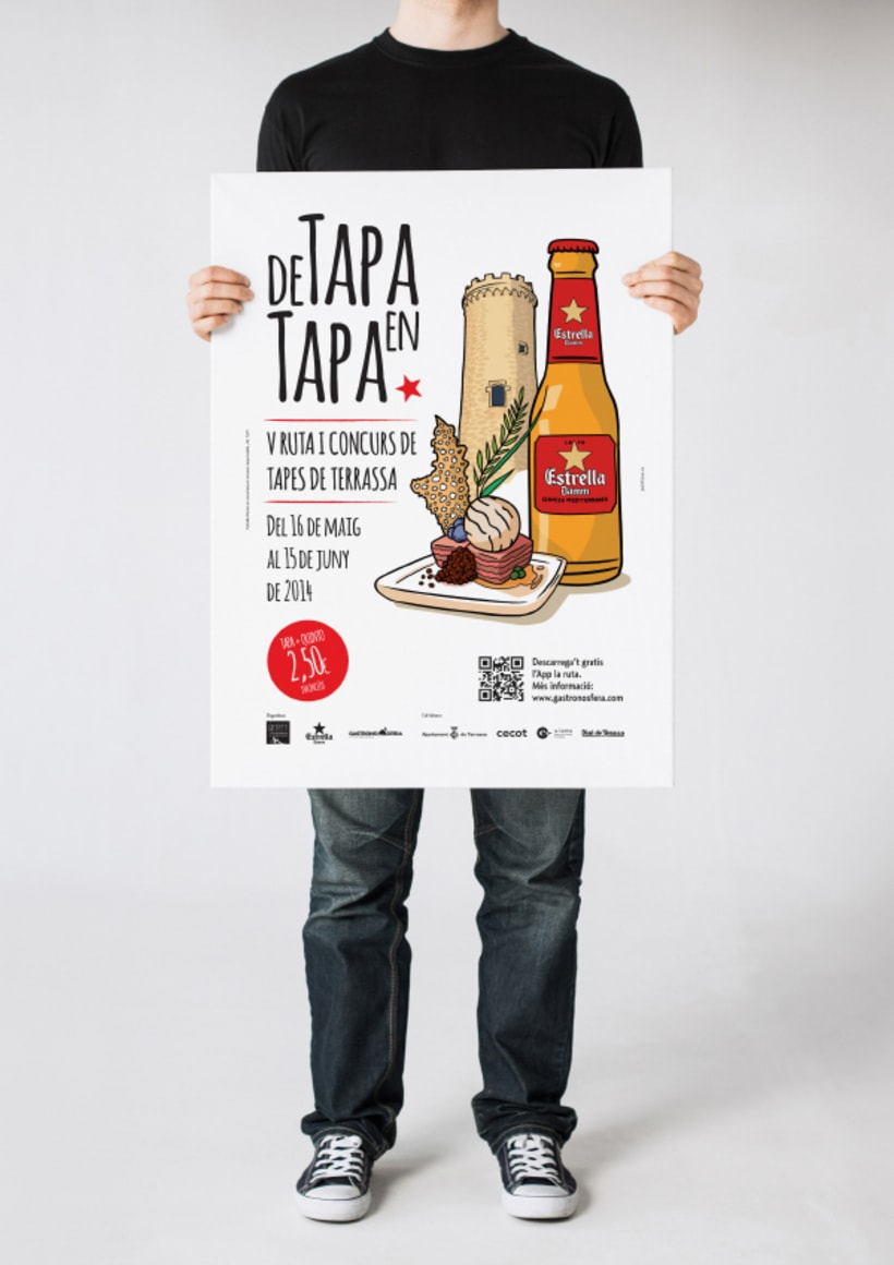 Damm Design estrella damm posters domestika