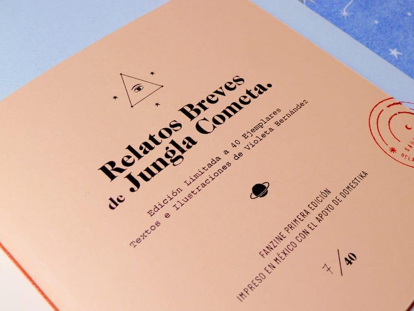 Fanzine: Relatos Cortos de Jungla Cometa. 0