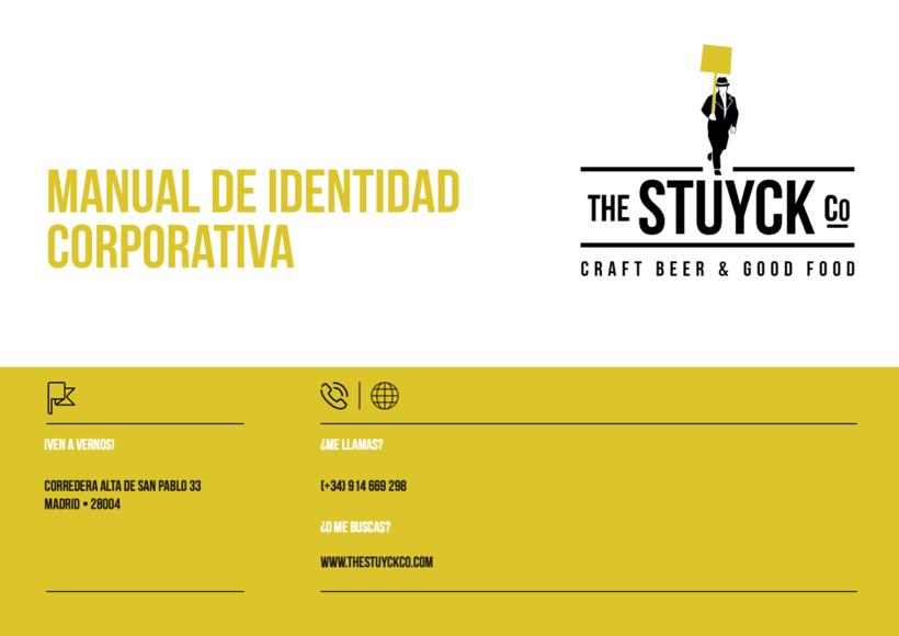 Stuyck - Cervecería Artesana - Identidad corporativa para Bar en Madrid 0