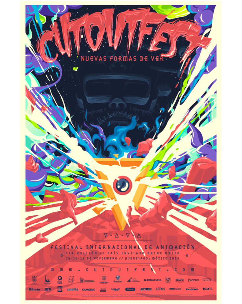 CUT OUT FEST 2013 / Campaña Visual 6