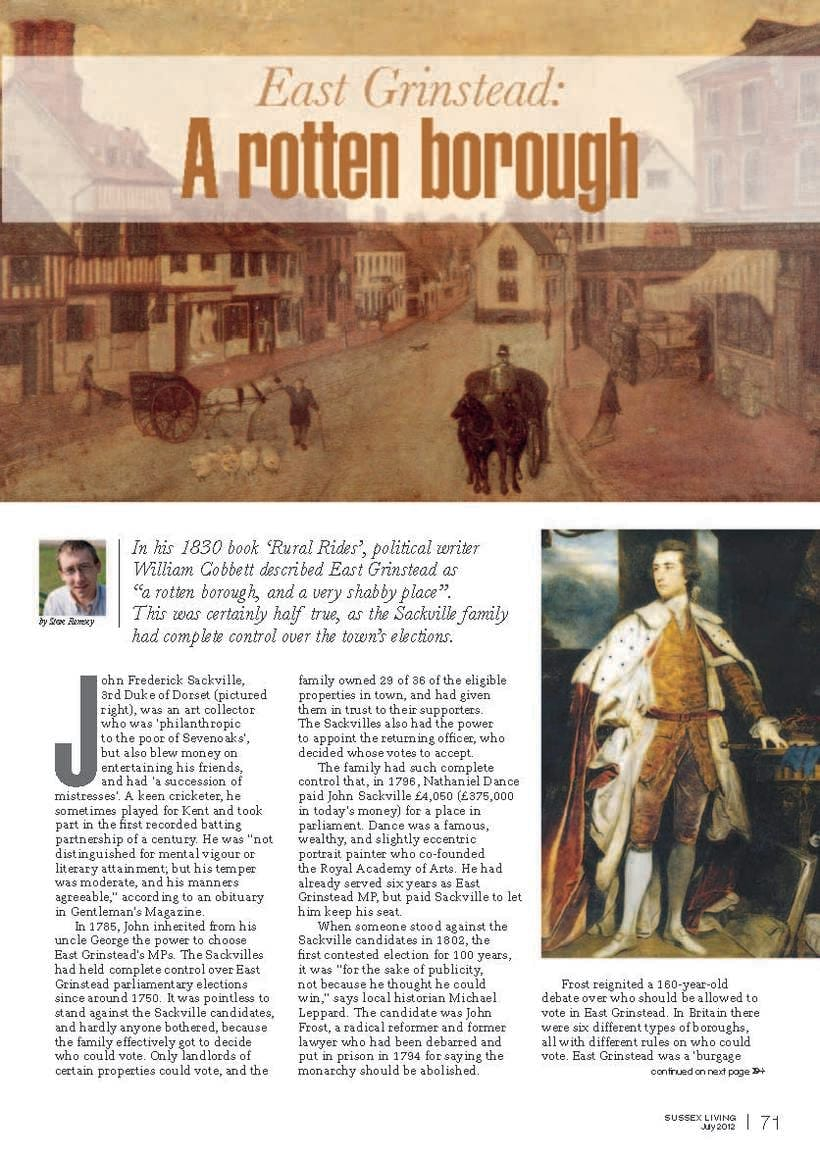 Maquetación de páginas - Sussex Living Magazine 2