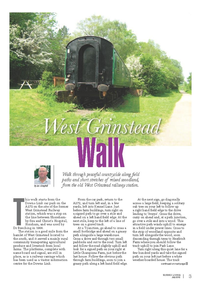Maquetación de páginas - Sussex Living Magazine 5