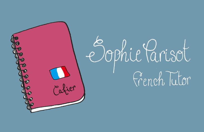 Tarjeta de visita - Sophie Parisot 0